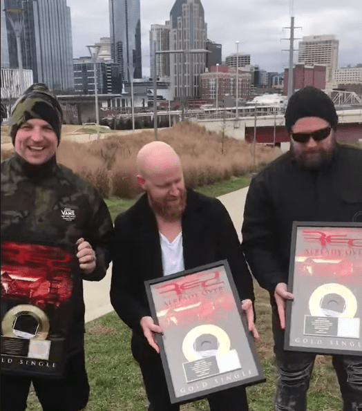RED Holds Already Over Gold Records in Nashville