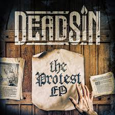 Deadsin The Protest EP cover
