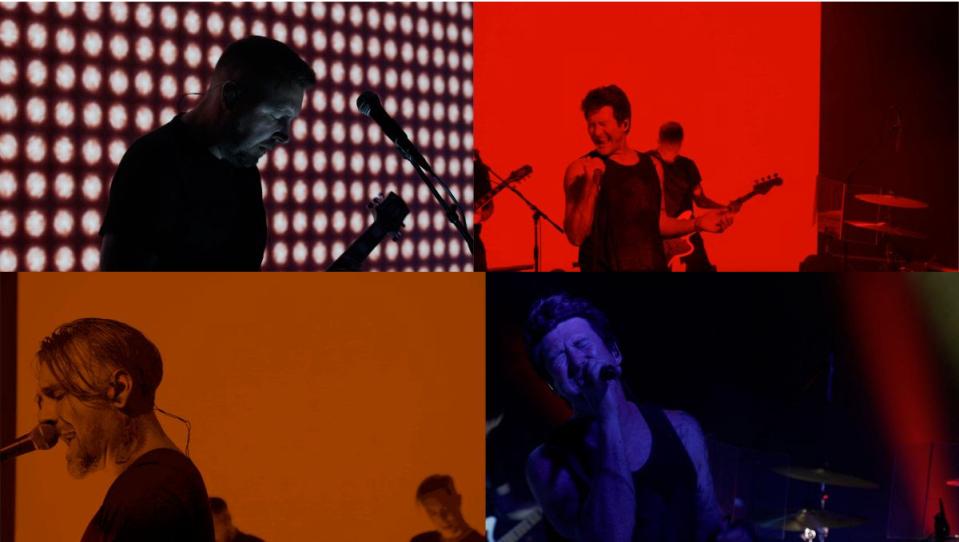 Anberlin Livestream Screenshots