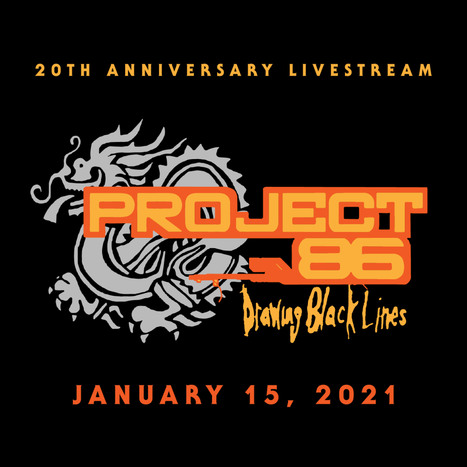 Project 86 Drawing Black Lines Livestream