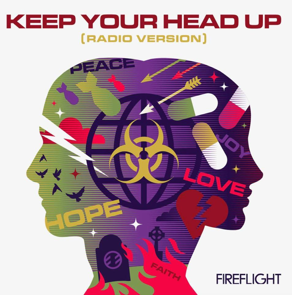 Fireflight Keep Your Head Up Radio Version Cover