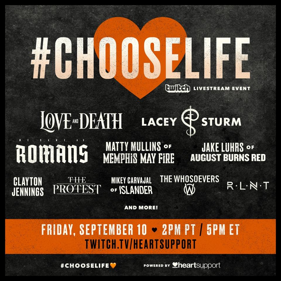 Choose Life livestream 2021