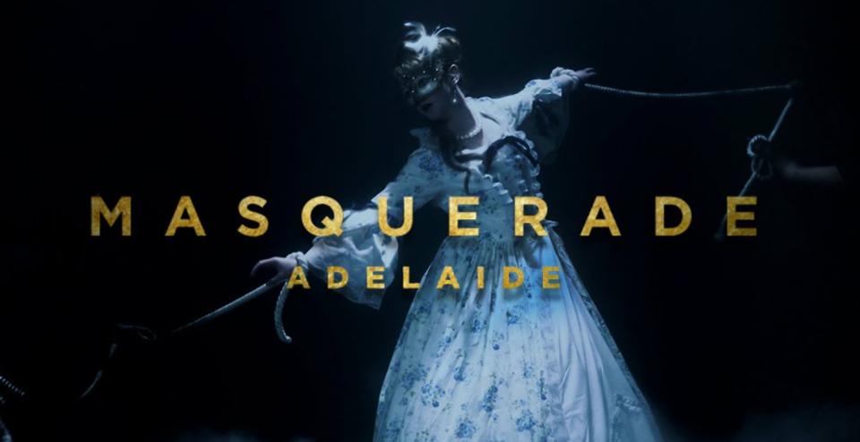 Masquerade Adelaide music video